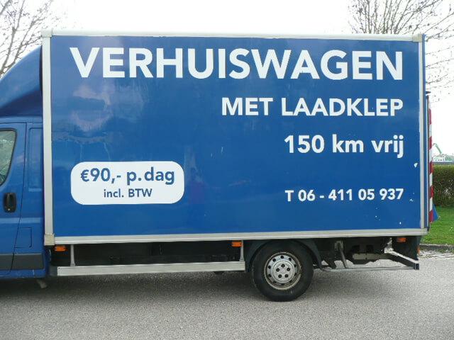 Onwijs Verhuiswagen te huur - Automarc.nl SL-11